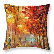 Fall Night Throw Pillow