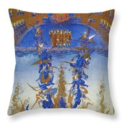 Fall Of Rebel Angels Throw Pillow