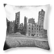 Fall Of Richmond, Virginia Throw Pillow