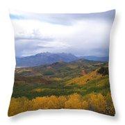 Fall On Mcclure Pass Throw Pillow
