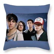 Fall Out Boy Throw Pillow