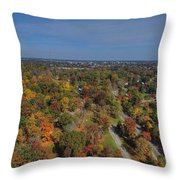 Fall Over Richmond Throw Pillow