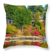 Fall Paradise Throw Pillow