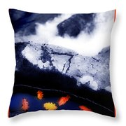 Fall Quintet Throw Pillow