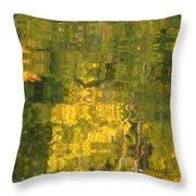 Fall Reflections 2 On Jamaica Pond Throw Pillow