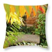 Fall Retreat Throw Pillow