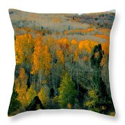 Fall Ridge Throw Pillow