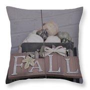 Fall S/c Throw Pillow