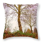 Fall Season At Its Best Throw Pillow
