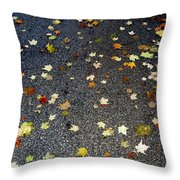 Fall Sparkle Throw Pillow