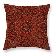 Fall Splendor Mandala Throw Pillow