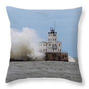 Fall Storm Throw Pillow