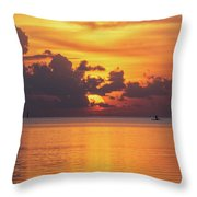 Fall Sunrise Throw Pillow