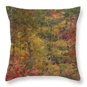 Fall Tapestry Throw Pillow
