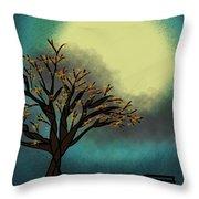 Fall Time Break  Throw Pillow