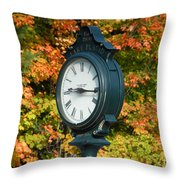 Fall Time Throw Pillow