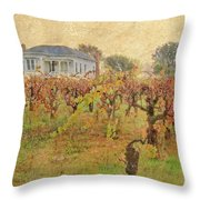 Fall Vines Throw Pillow