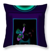 Fall Violet Throw Pillow