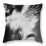 Fallen Angel Vertical Throw Pillow