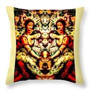 Fallen Angels 1503 Davinci Throw Pillow