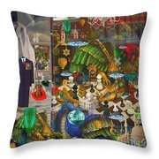 The Evil Trick Throw Pillow