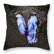 Fallen Butterfly Throw Pillow