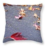 Fallen Throw Pillow