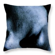 Fallen Face Throw Pillow