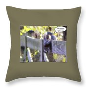 Fallen For You Throw Pillow