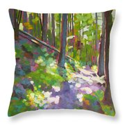 Fallen Log Throw Pillow