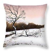 Fallen Tree Stainland Throw Pillow
