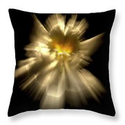 Falling Angel Throw Pillow