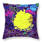 Falling Colors Throw Pillow