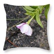 Falling Flower Throw Pillow