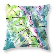 Falling Further In Throw Pillow