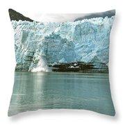 Falling Ice 8421 Throw Pillow