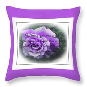 Falling In Love 2 Throw Pillow
