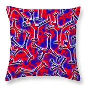 Falling Into The Abyss Throw Pillow