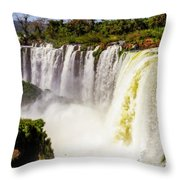 Falling Into The Void Throw Pillow