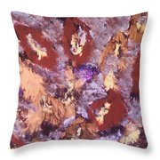Falling Leave's Throw Pillow