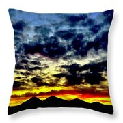 Dreaming Sisters Throw Pillow