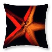 Falling Starfish One Throw Pillow
