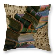 Falling Wisdom Throw Pillow