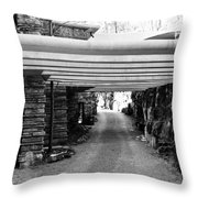 Fallingwater Driveway Throw Pillow