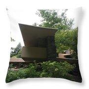 Fallingwater Exterior  Throw Pillow