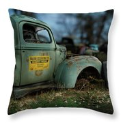 Fallon Excavating Co. Throw Pillow