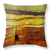 Fallow Ground Throw Pillow