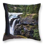 Falls 3 Throw Pillow