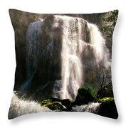 Falls Creek Falls Throw Pillow