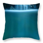 Falls Pool Throw Pillow